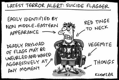 flag terrorists