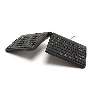 可调节人机工程学键盘