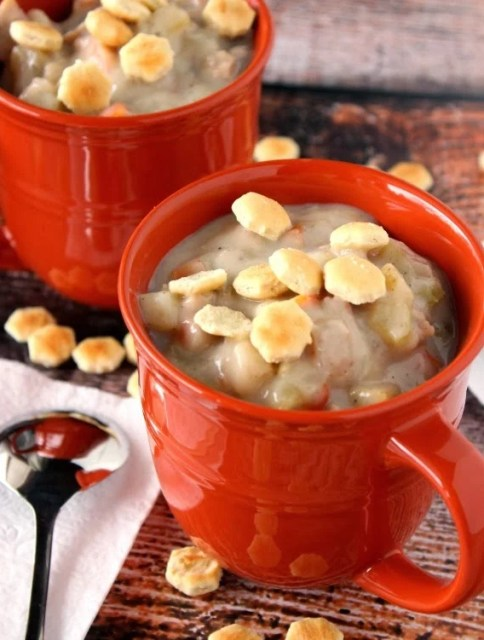Kudos Kitchen By Renee - Clam and Shrimp Chowder Recipe