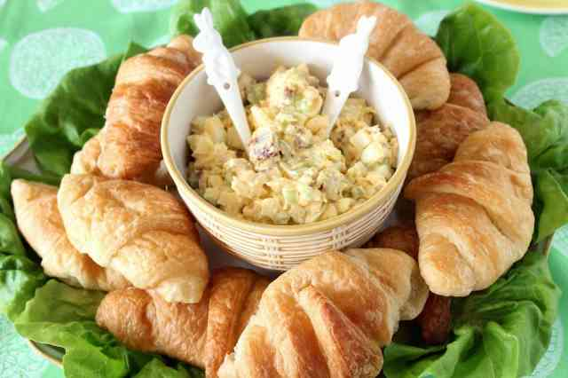 Bacon Egg Salad Recipe