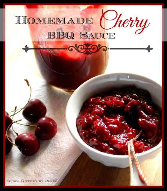 Homemade Cherry BBQ Sauce Recipe