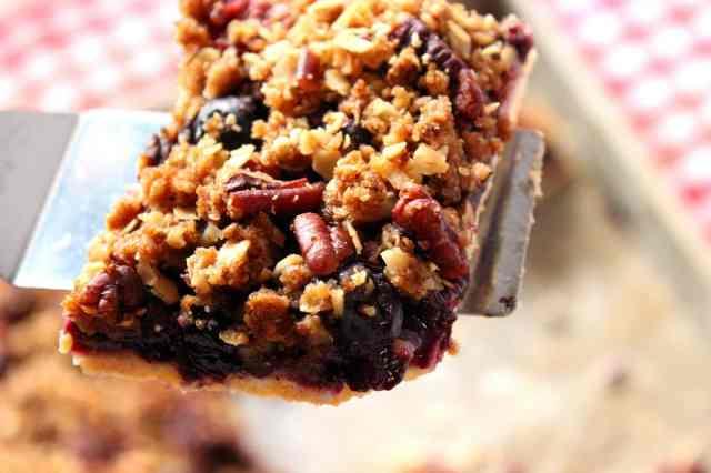 Blueberry Slab Pie