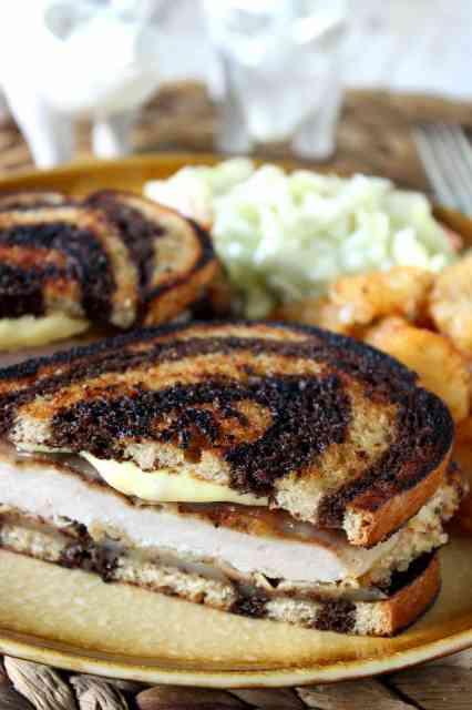 How to make a schnitzel melt sandwich / www.kudoskitchenbyrenee.com