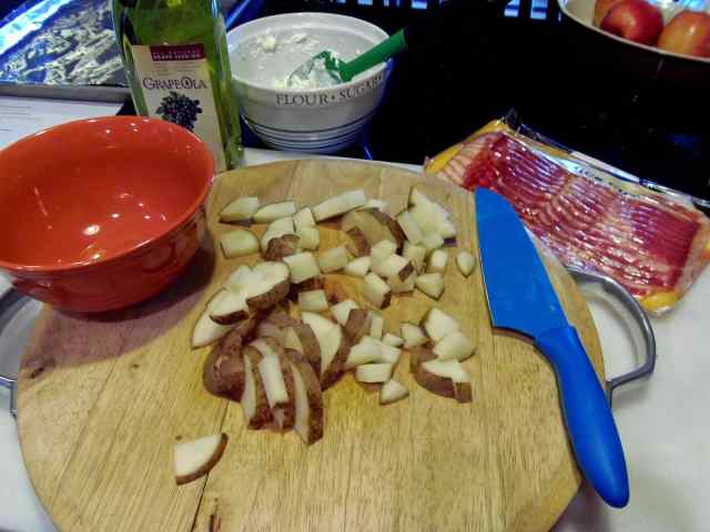 Making Chinese Bing Bread