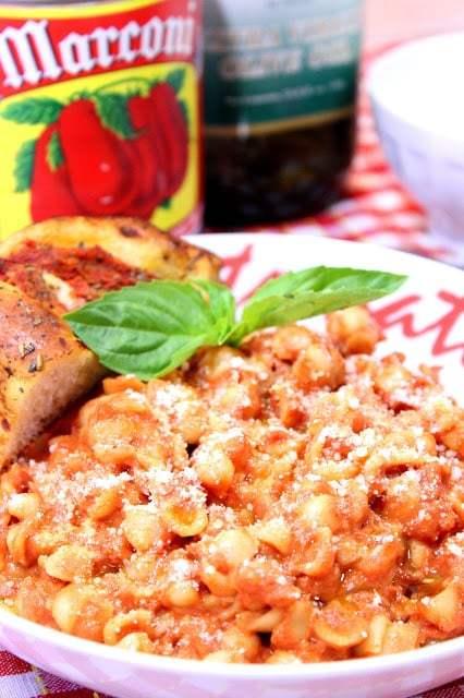 Tomato and Bacon Pasta with Mascarpone