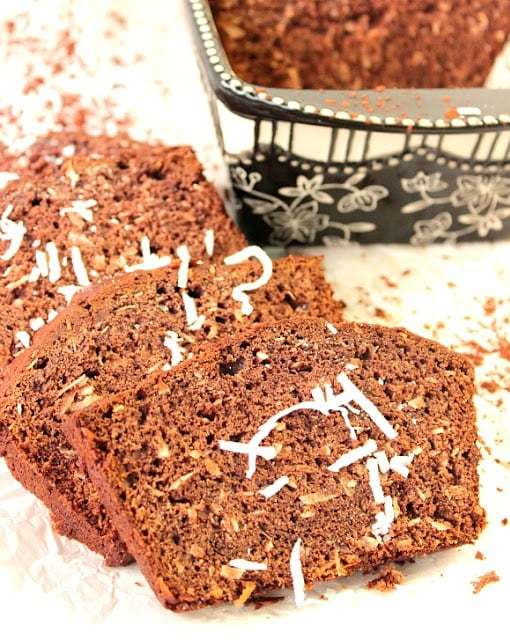 Cocoa Coconut Banana Bread