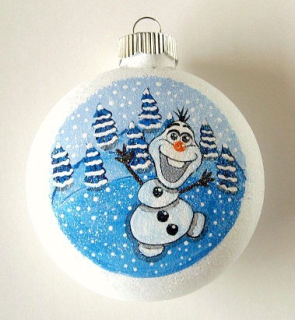 Olaf Hand Painted Ornament