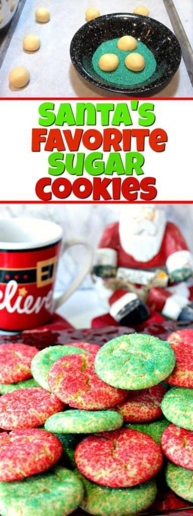 Santa's Favorite Sugar Cookies | Kudos Kitchen by Renee