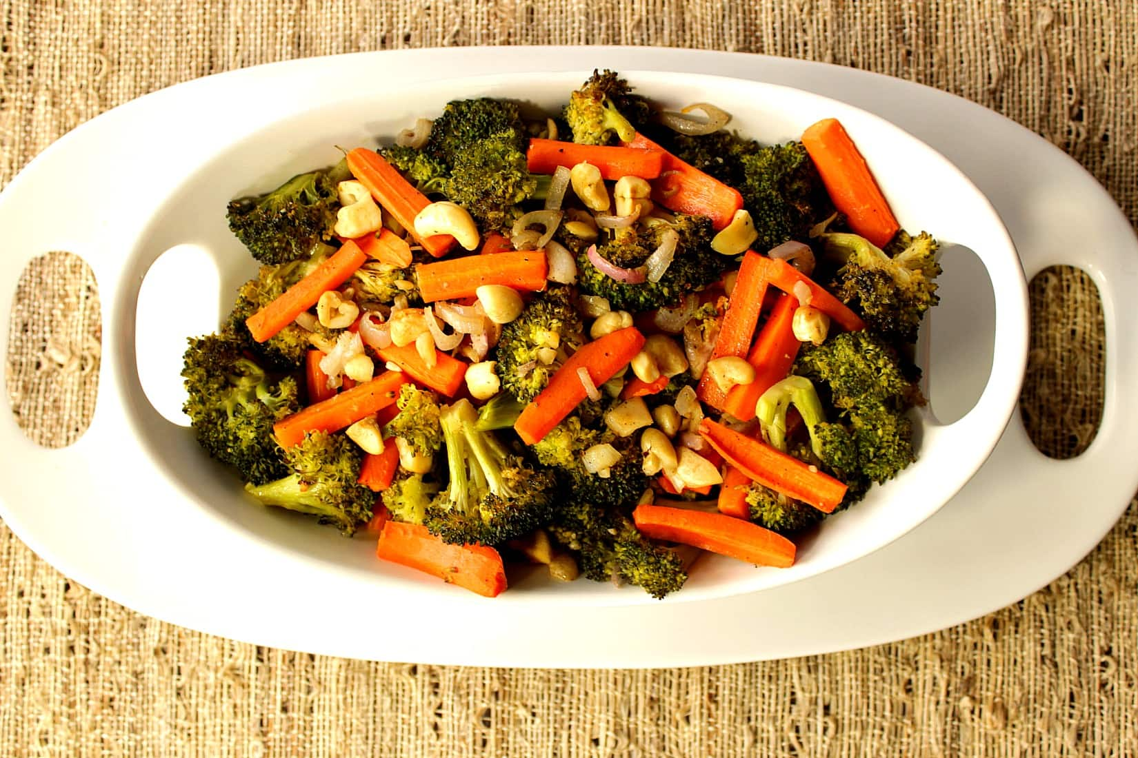 how to cook broccoli and carrots