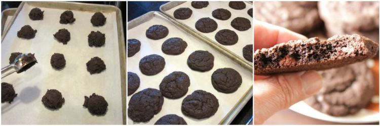 chocolate malted chip cookies collate 4