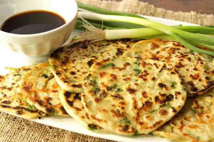 Asian Scallion Pancakes