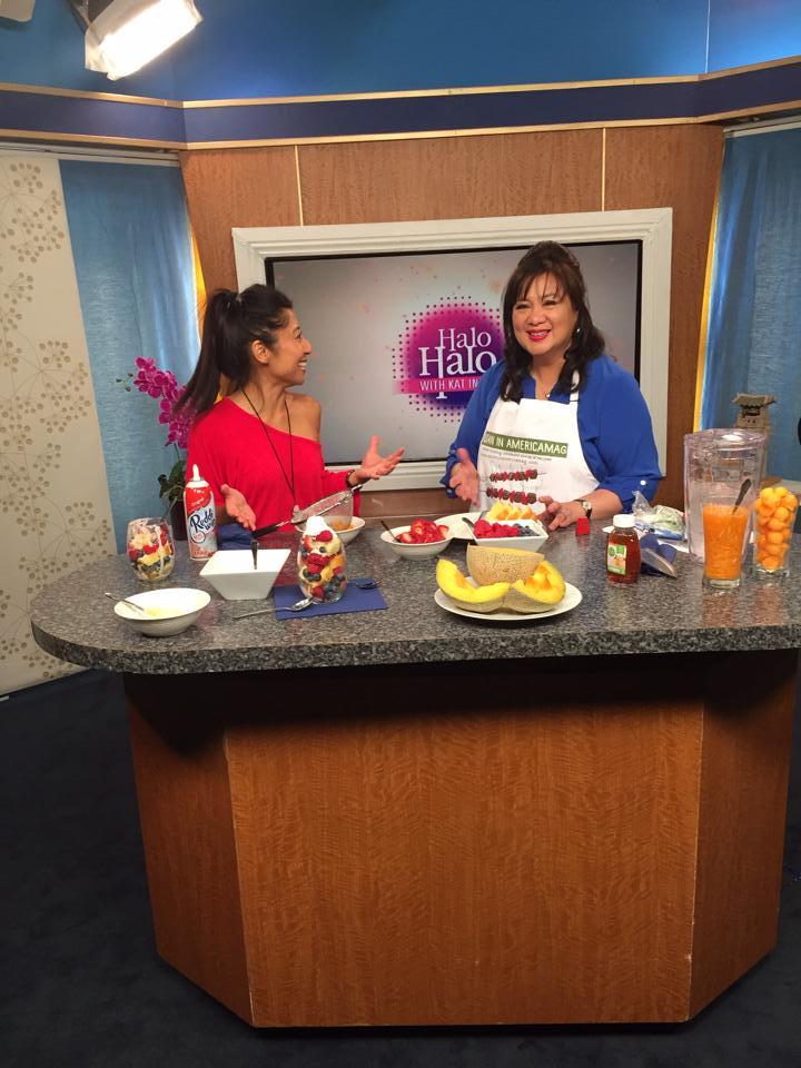 Food Blogger Logo Apron on TV