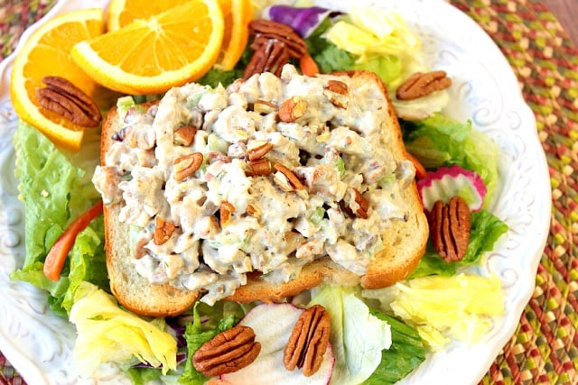 Orange Cashew Chicken Salad