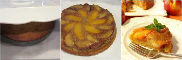 Recipe for Nectarine Upside Down Cake