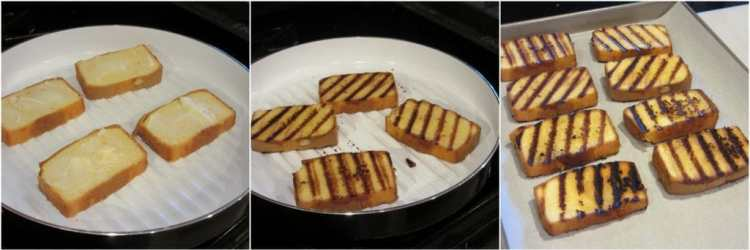 How to grill pound cake slices - www.kudoskitchenbyrenee.com