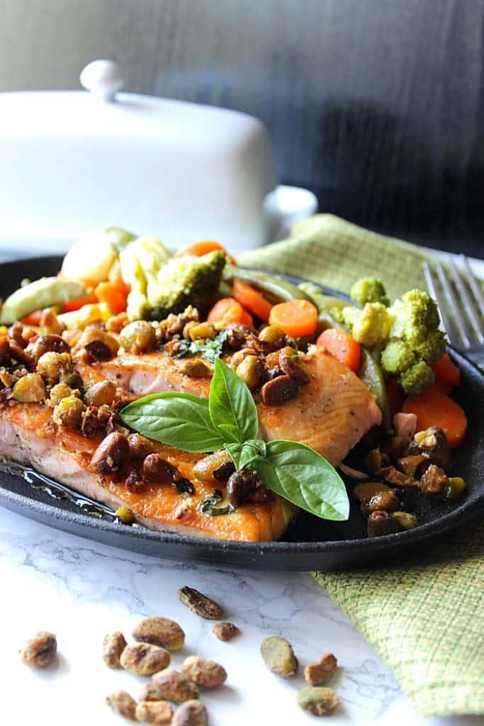 Seared Salmon Fillets Recipe