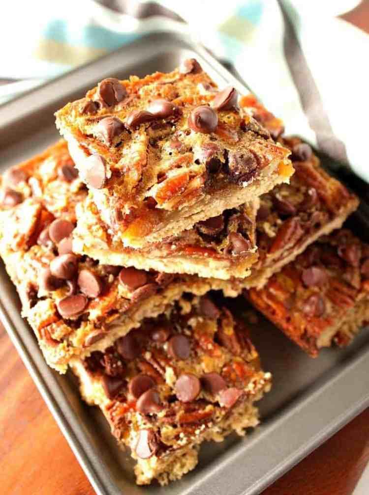 Joan's Chocolate Pecan Pie Bars