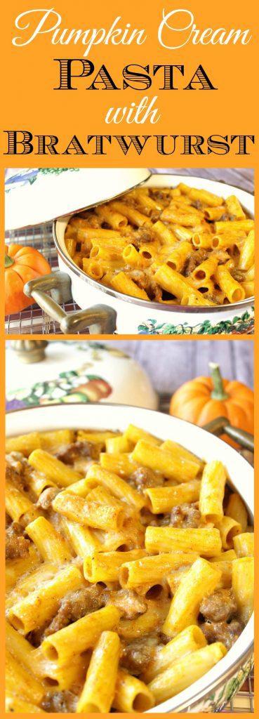 Pasta with Pumpkin Cream Sauce