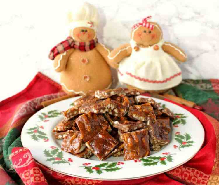 Gingerbread Toffee Recipe