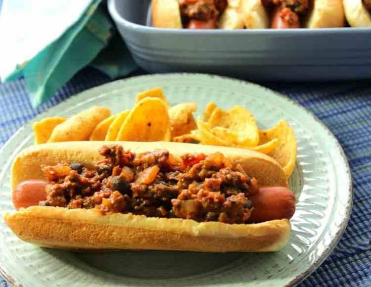 Sloppy Jose Hot Dogs