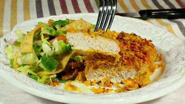 Cool Ranch Pork Chops Dinner Recipe