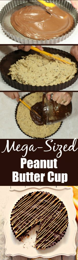 Mega-Sized Peanut Butter Cup how-to photos