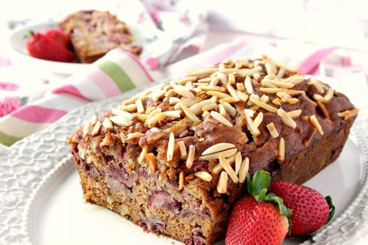 One Bowl Strawberry Banana Bread Recipe