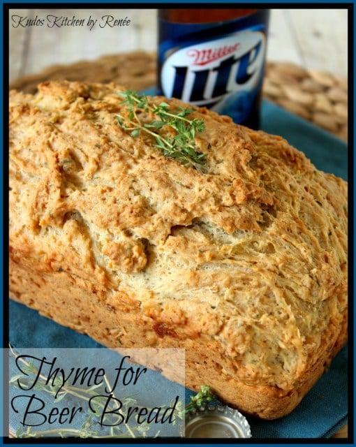Thyme Beer Bread
