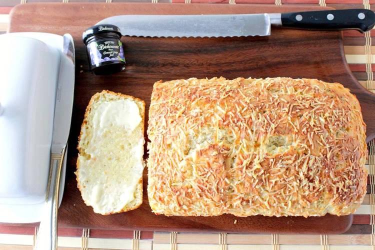 Italian Herb Parmesan Quick Bread