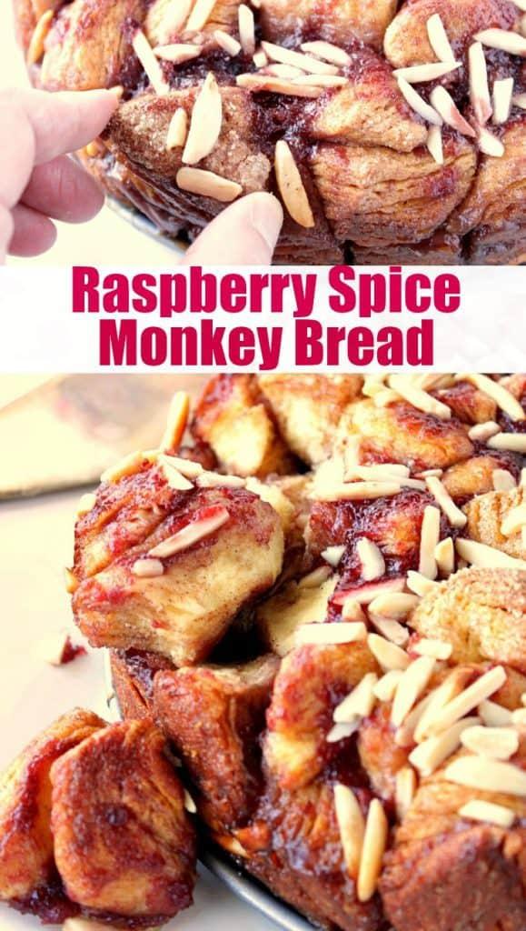 Recipe image for Raspberry Spice Monkey Bread