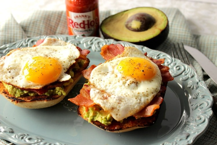 Bacon & Egg Avocado Toast Photo