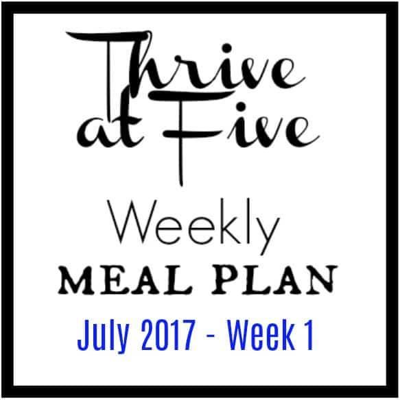 Thrive At Five Meal Plan Logo