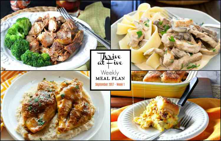 Weekly Meal Planning Week 42