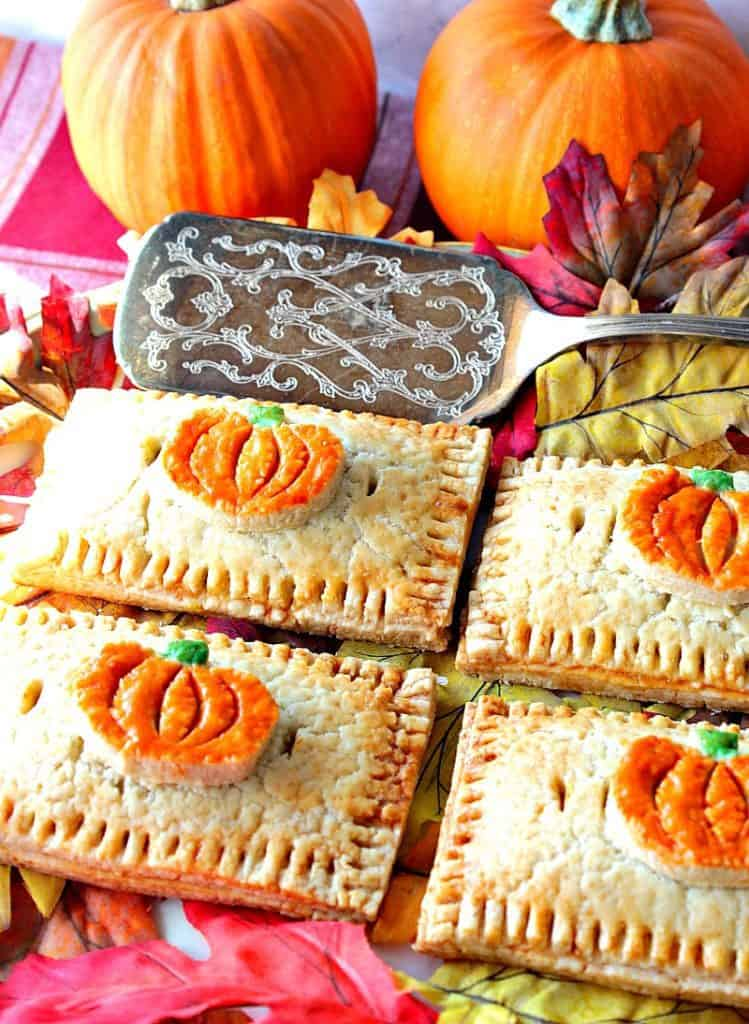 Charmingly Embellished Homemade Pumpkin Hand Pies for Dessert