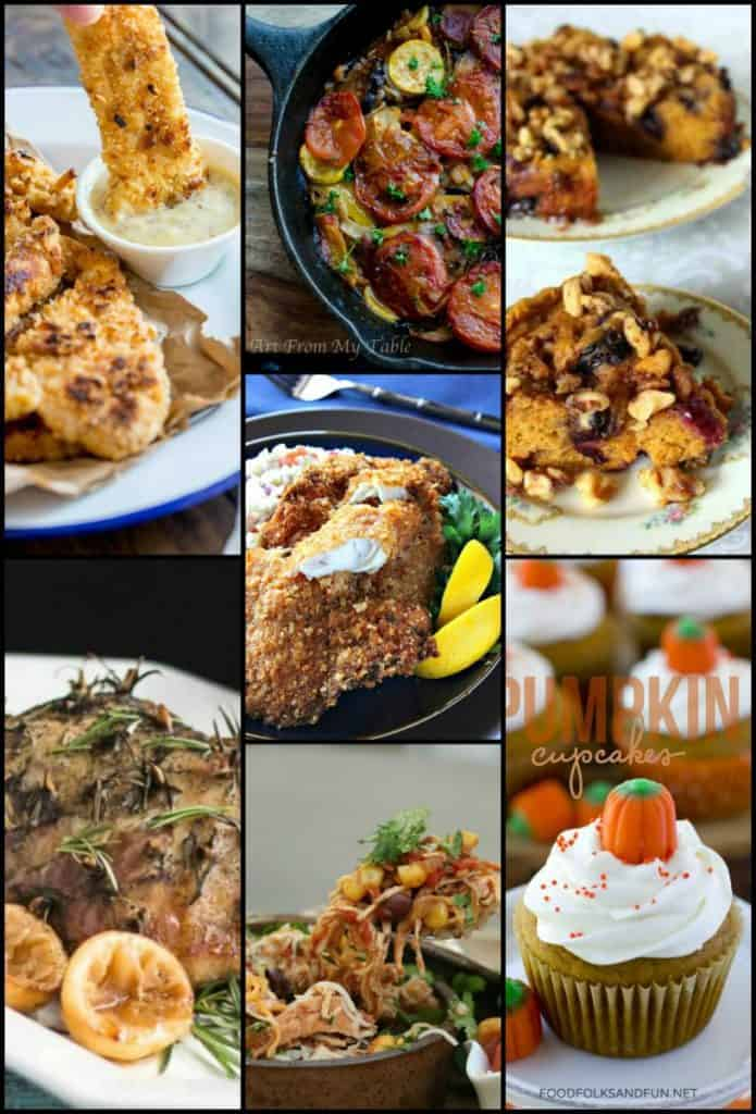 Weekly Meal Planning Collage October 2017 Week 4
