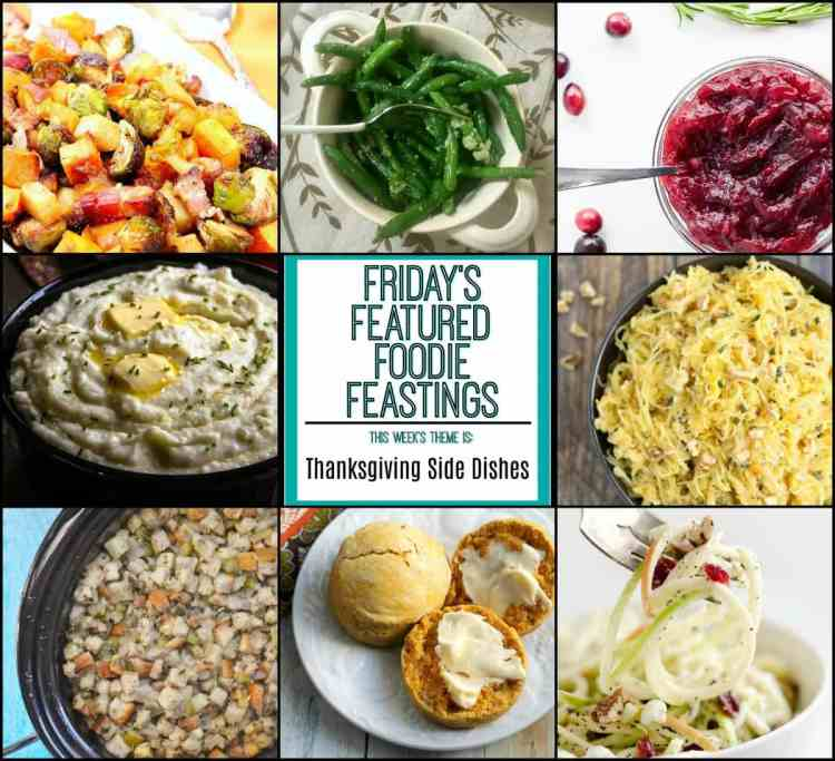 Thanksgiving Side Dish Roundup 2017 image collage
