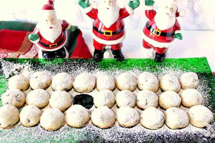 Buttery Sweet Pistachio Cranberry Snowball Cookies - www.kudoskitchenbyrenee.com