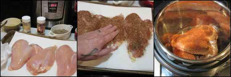 How to make shredded salsa chicken for the Instant Pot. - kudoskitchenbyrenee.com