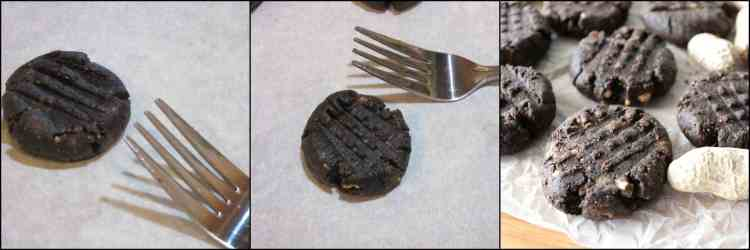 How to make 5 Ingredient Sugar-Free Chocolate Peanut Butter Cookies - kudoskitchenbyrenee.com