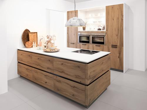 Echtholzküche 4 - Modell Brauhausstraße