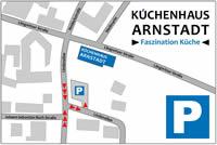 Anfahrt Küchenhaus Arnstadt