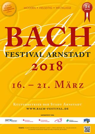 Hauptsponsor Bach Festival