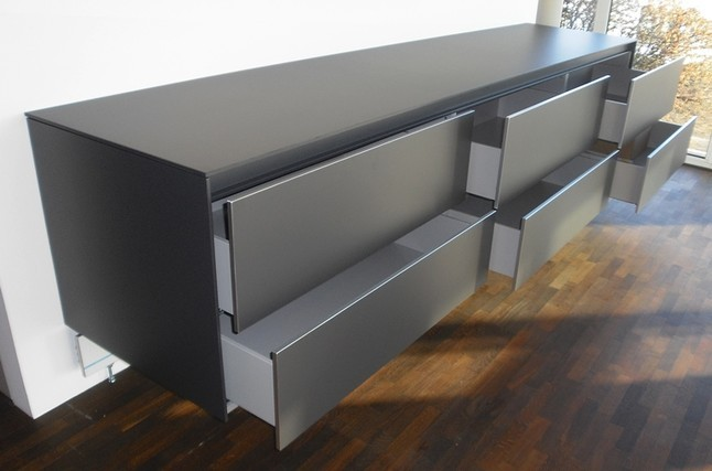 Bulthaup Musterk 252 Che Sideboard Wandh 228 Ngend Als K 252 Chen