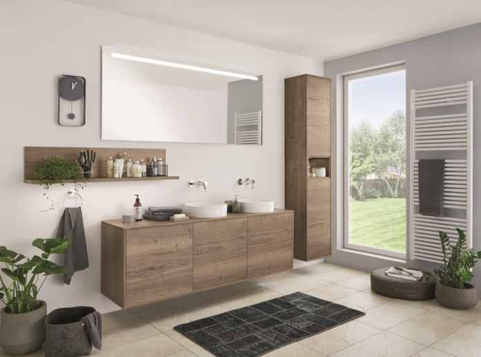 This photo also seems to come from the collection of a bathroom supplier. Error: it comes from the kitchen furniture manufacturer nobilia. (Photo: nobilia)