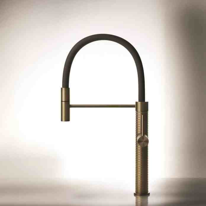 Making everyday things unique: Gessi sets new standards for the refinement of fittings in high-quality premium kitchens. (Photo: Gessi)