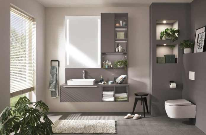 ... but also for neat bathroom and cloakroom furniture. (Photo: nobilia)