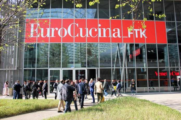Expected eagerly, postponed: the globally successful kitchen trade fair EuroCucina in Milan was initially postponed from April to mid-June. Numerous innovations from the manufacturers must be announced in advance. (Photo: Susanne Maerzke)