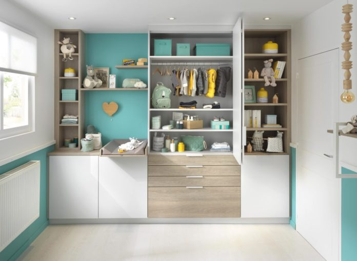 ... or use in the children's room. Each compilation is made individually and can also be made to measure on request. (Photo: SCHMIDT Kitchens)