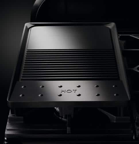 Griddle for meat and fish: the Range Cooker can do just about anything.  (Photo: Falcon)