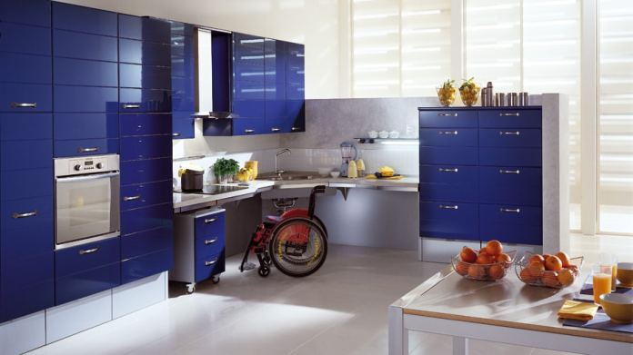 Scavolini also bases its success on constantly striving for new concepts - including ergonomic cabinet heights.  (Photo: Scavolini)